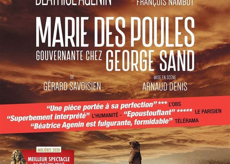 Marie Des Poules, Gouvernante Chez George Sand à Paris 14ème