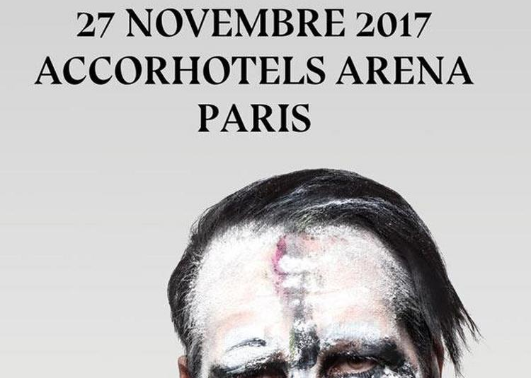 Marilyn Manson à Paris 12ème