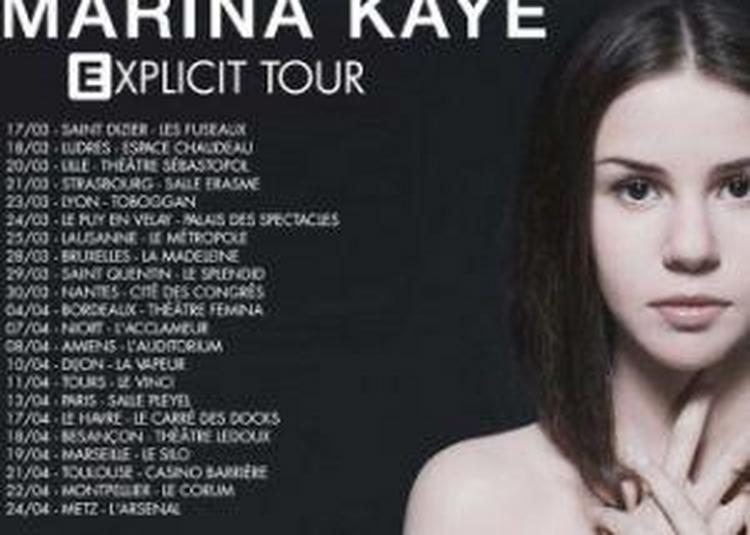 Marina Kaye à Saint Quentin