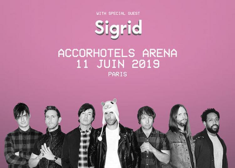 Maroon 5 à Paris 12ème