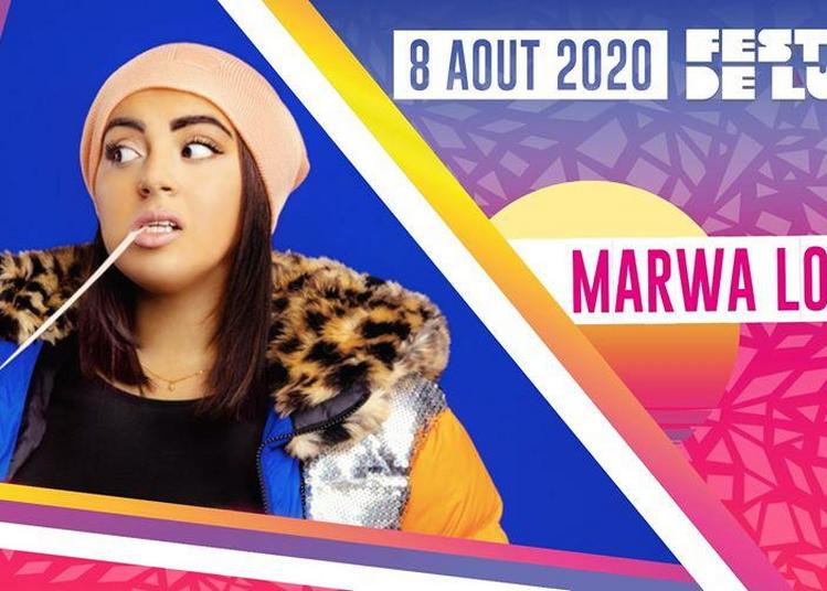 Marwa Loud à Lunel