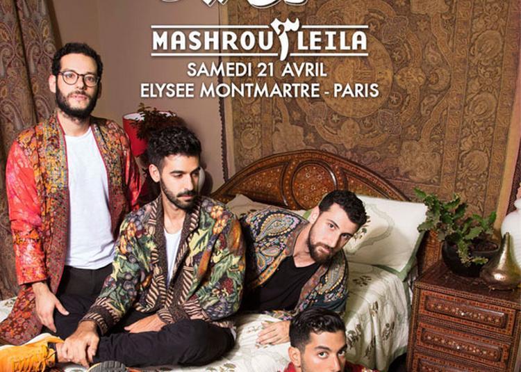 Mashrou' Leila à Paris 18ème