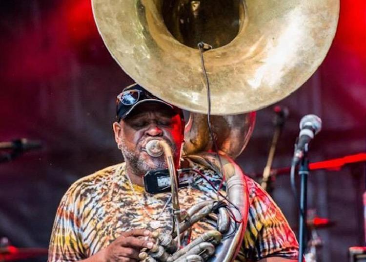 Master class chez le Baron de Bayanne : Funk New Orleans avec Kirk Joseph à Alixan