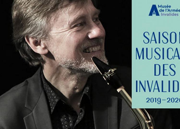 Master-Class Publique De Saxophone à Paris 7ème