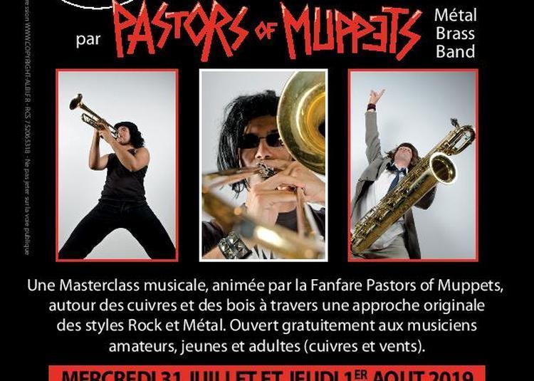 Master Classe avec le groupe Pastors of Muppets à Le Garric