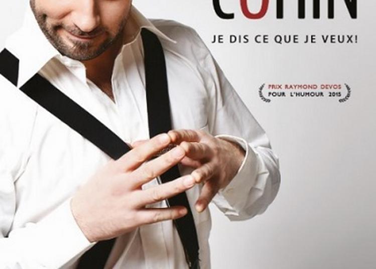 Dîner spectacle du nouvel an: Mathieu Cohin à Angers