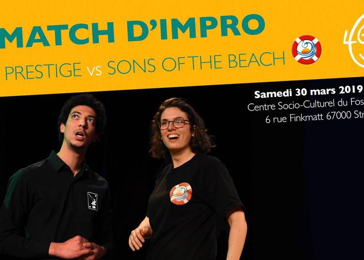 Match d'impro : Le Prestige vs Sons of the Beach à Strasbourg