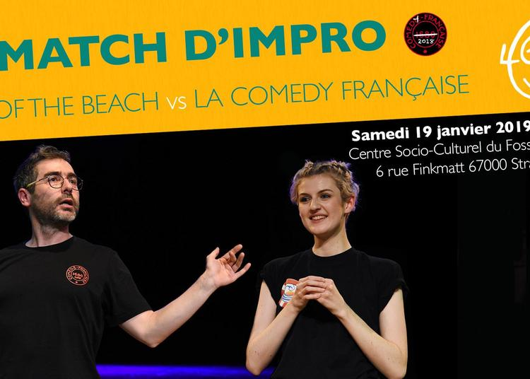 Match d'impro : Sons of the Beach vs La Comedy Française à Strasbourg