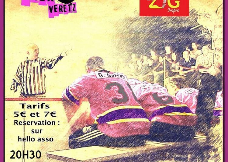 Match d'improvisation Véretz vs La Roche-sur-Yon à Veretz