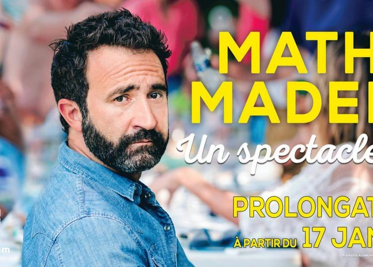 Mathieu Madenian à Paris 9ème