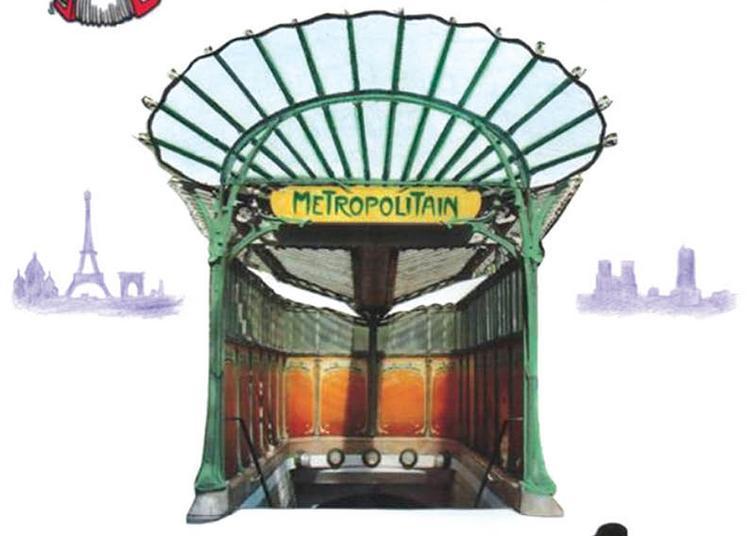 Maxence Ou Le Conte Du Metro à Paris 19ème