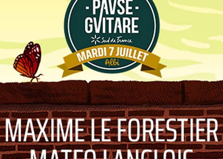 Maxime Le Forestier+Mateo Langlois à Albi