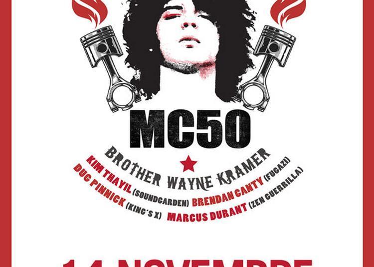 Mc50 à Paris 18ème