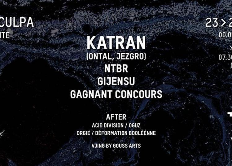 Meaculpa Invite Katran (Ontal) / Gijensu / NTBR à Paris 19ème