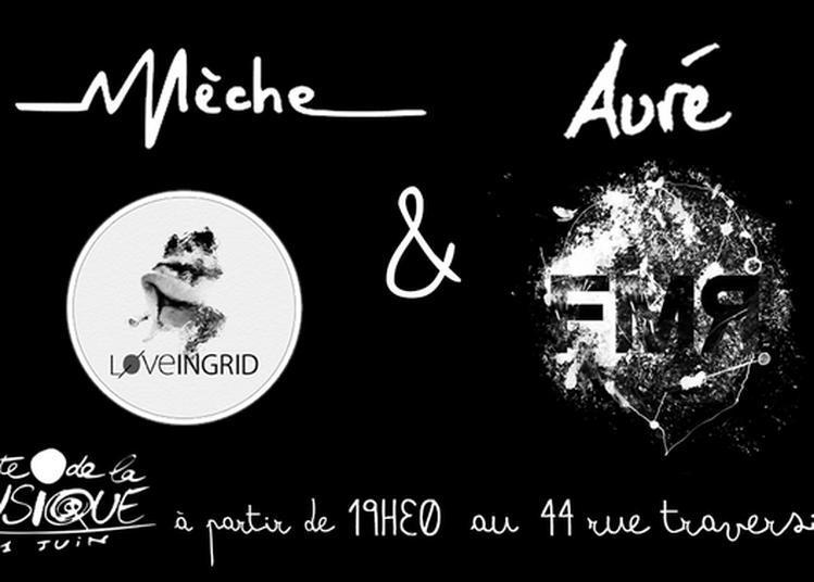 Mèche, Auré, Loveingrid Et Le Baron Fmr à Paris 12ème