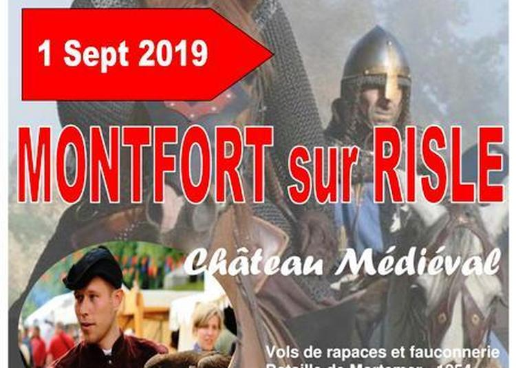 Médiévales de Montfort sur Risle - Bataille de Mortemer et Rapaces 2019