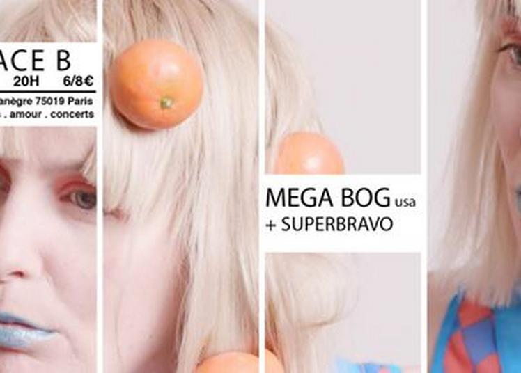 Mega Bog + Superbravo à Paris 19ème