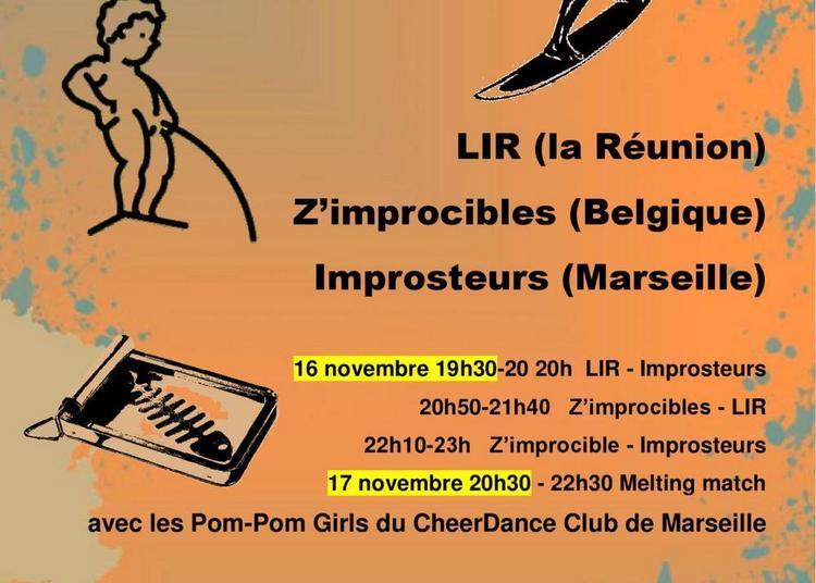 Melting Impro, tournoi Réunion Belgique Marseille