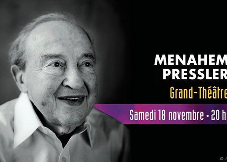Menahem Pressler Recital à Bordeaux
