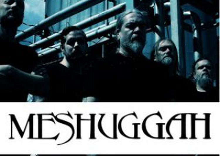 Meshuggah à Besancon