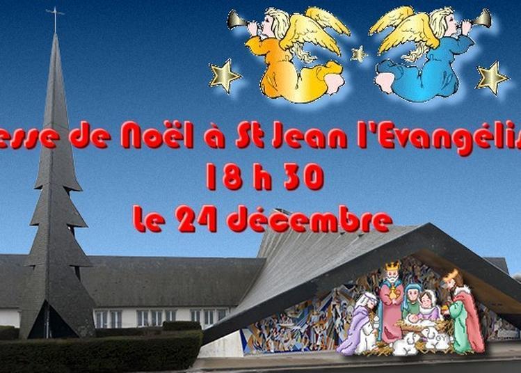 Messe de Noêl Eglise St Jean à Saint Malo