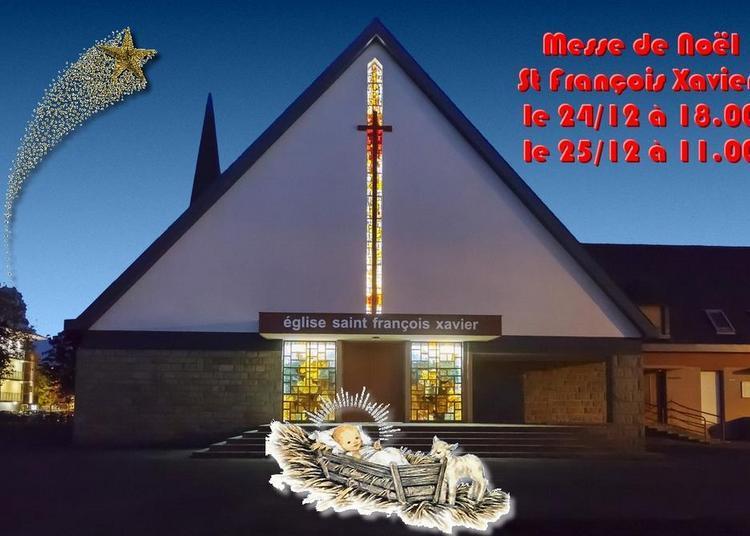 Messe de Noêl festive avec les familles à Saint Malo