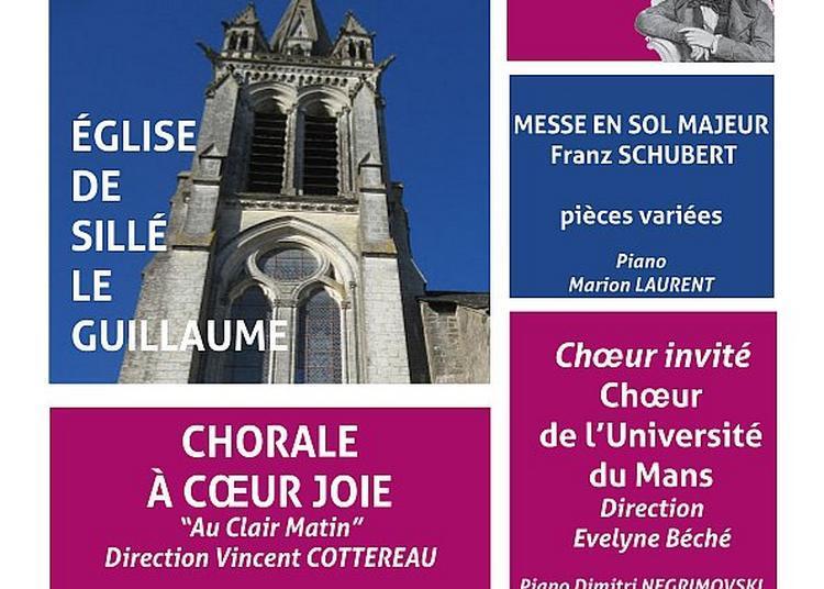 Messe en sol majeur de Schubert, pièces variées à Sille le Guillaume