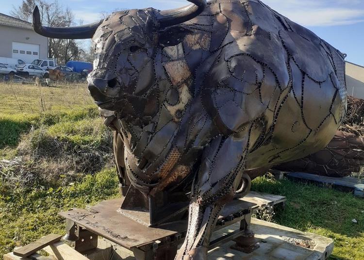 Metiers D'art / Sculptures Monumentales De Serge Roca En Extérieur à Valence