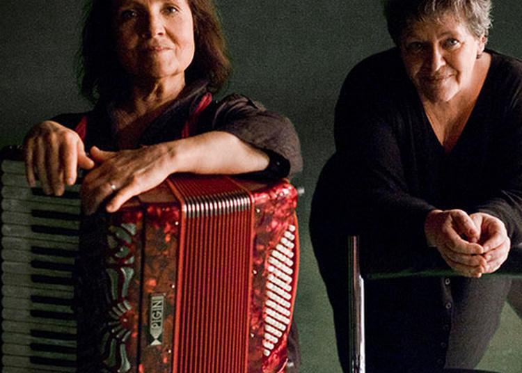 Michèle Bernard et Monique Brun à Lautrec