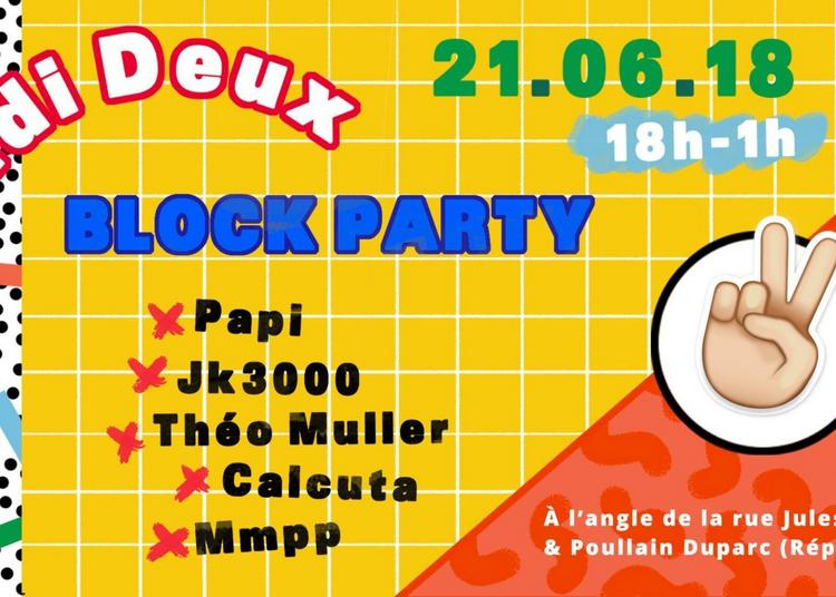 Midi Deux Block Party à Rennes