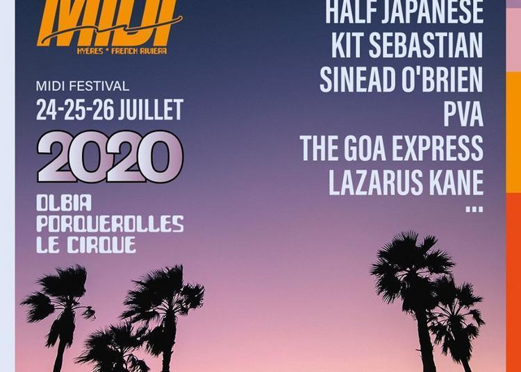 Midi Festival 2020 - Pass 3 Jours à Hyeres
