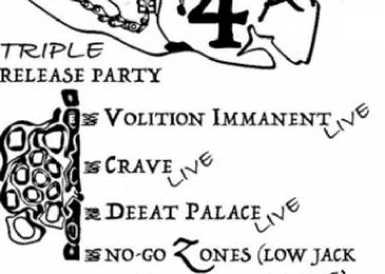Mind Records 4 Ans - Volition Immanent, Crave, Deeat Palace, NGZ à Paris 13ème
