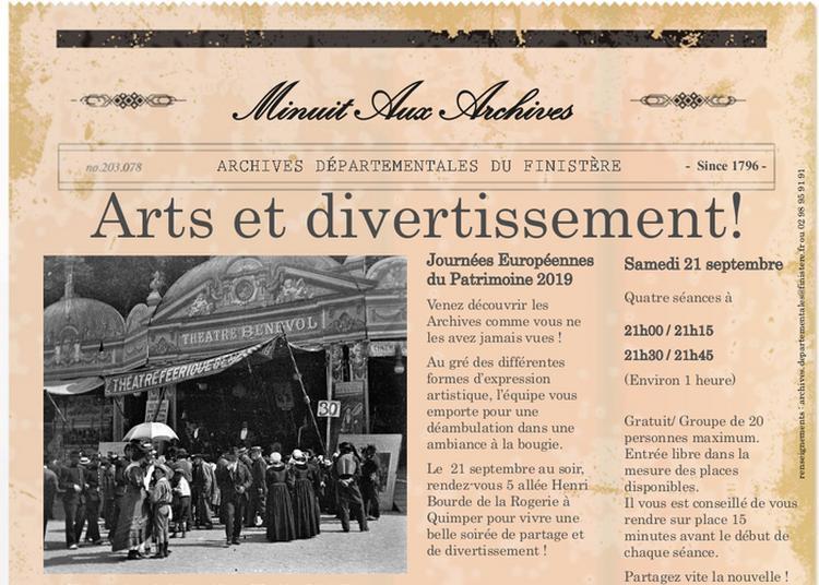 Minuit Aux Archives à Quimper