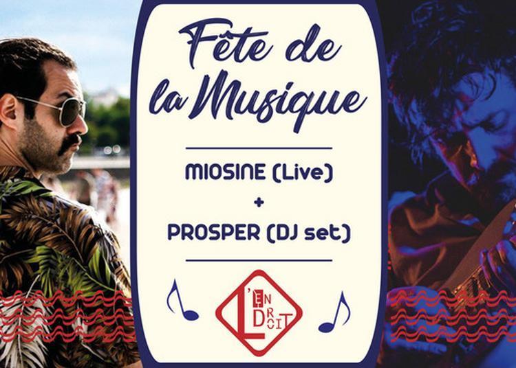Miosine + Prosper (Électro) à La Rochelle