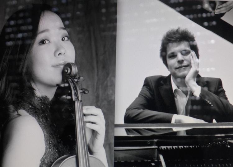 Misa Mamiya, violon et Guillaume Sigier, piano en concert à Paris 10ème