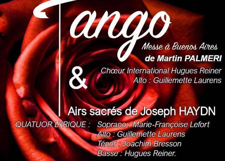 Misa tango de Palmeri à Paris 16ème