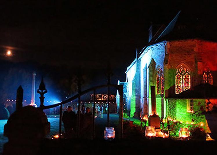 Mise En Valeur Des Vitraux De L'église à Sainte Suzanne sur Vire