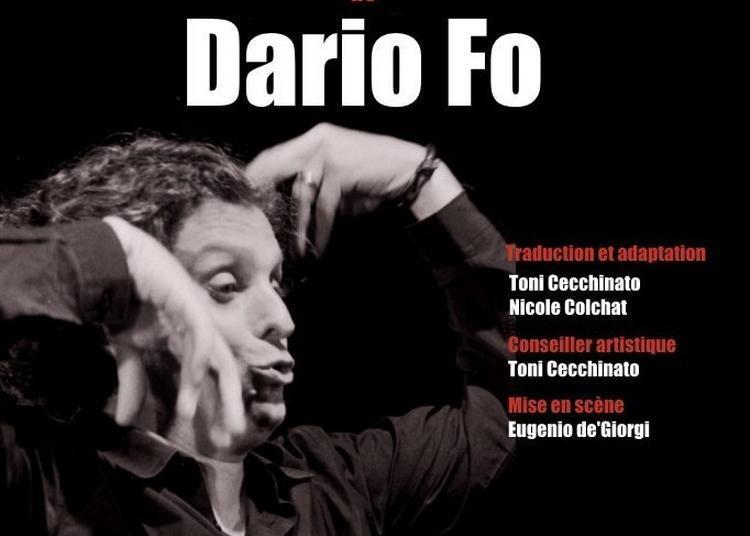 Mistero Buffo De Dario Fo à Paris 5ème