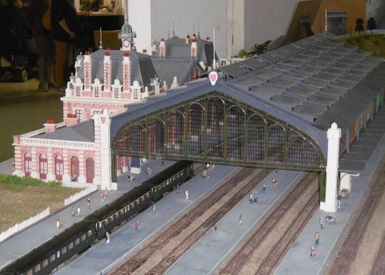 Modélisme Ferroviaire : La Gare D'arras De 1898 à1945 à Dainville