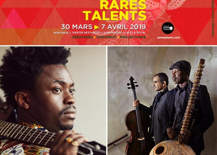 Moh ! Kouyaté et  Ballaké Sissoko & Vincent Ségal :: Festival Rares Talents #8 à Montreuil