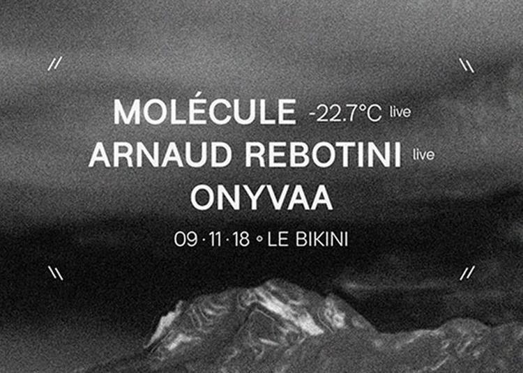 Molecule - 22.7°c Live à Ramonville saint Agne