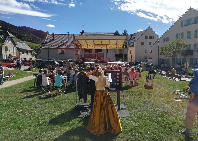 Molière Investit Le Village, Avec La Pièce Le Mariage Forcé En Théâtre Et En Mots à Lans en Vercors