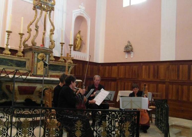 Moment Musical Dans L'église à Saint Andre en Royans