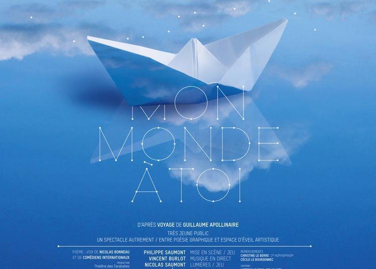 Mon Monde à toi  Un spectacle autrement d'après « Voyage » poème de Guillaume Apollinaire à Orsay