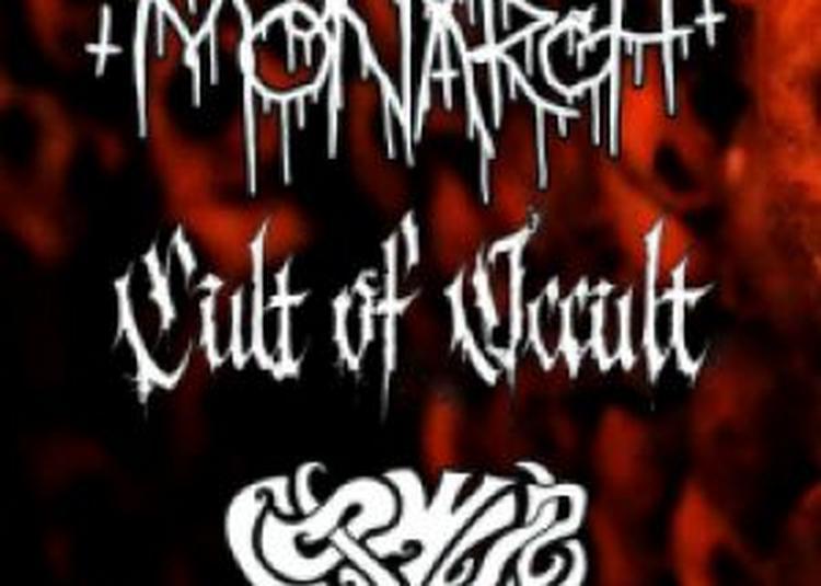 Monarch! / Cult Of Occult / Owl Coven à Nantes