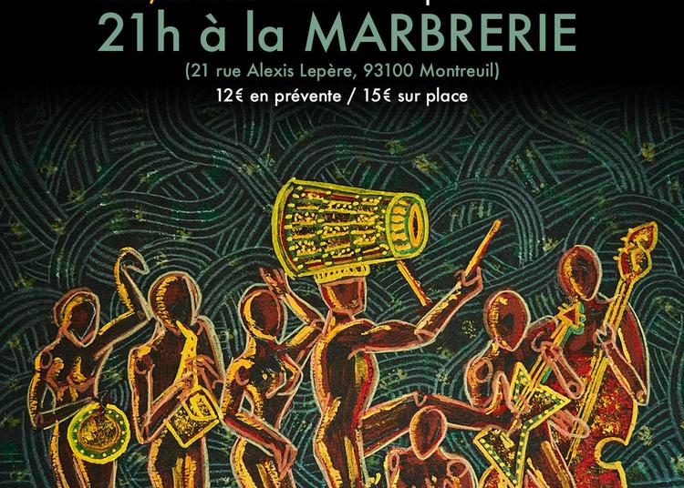 Monkuti - Afrobeat-Jazz à Montreuil
