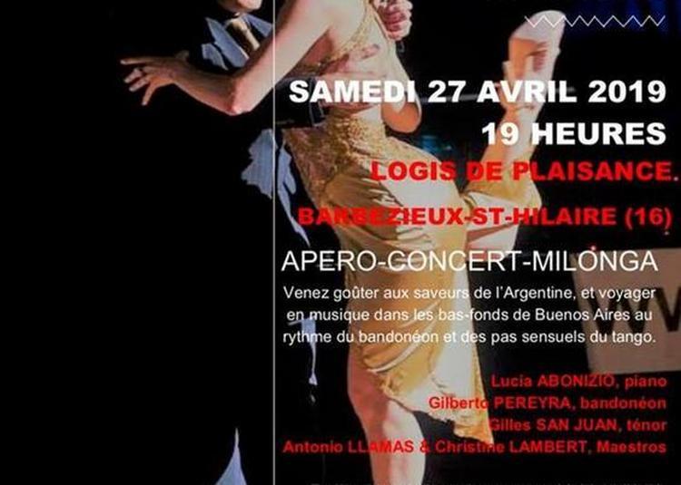Monumental Tango à Barbezieux saint Hilaire