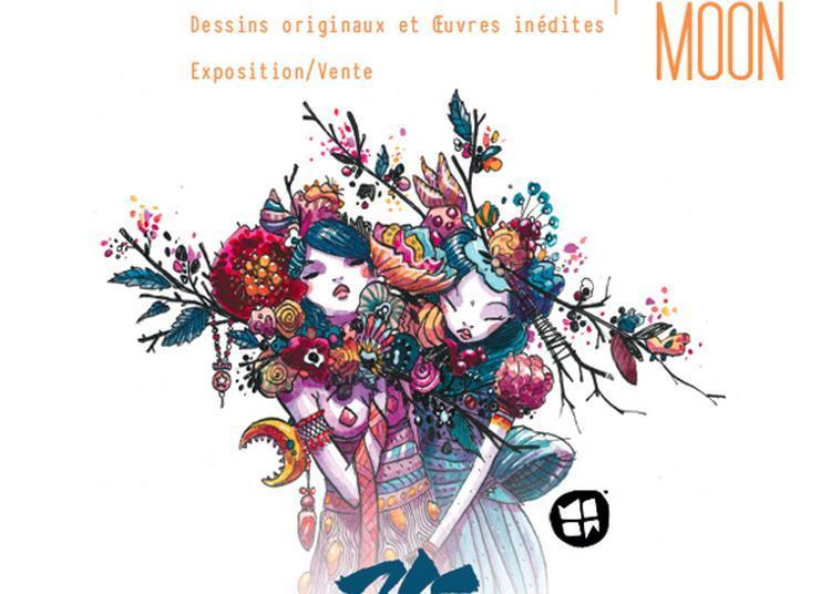 Moon // Présentation De Son Livre 365 Squares Vol2 à Nantes