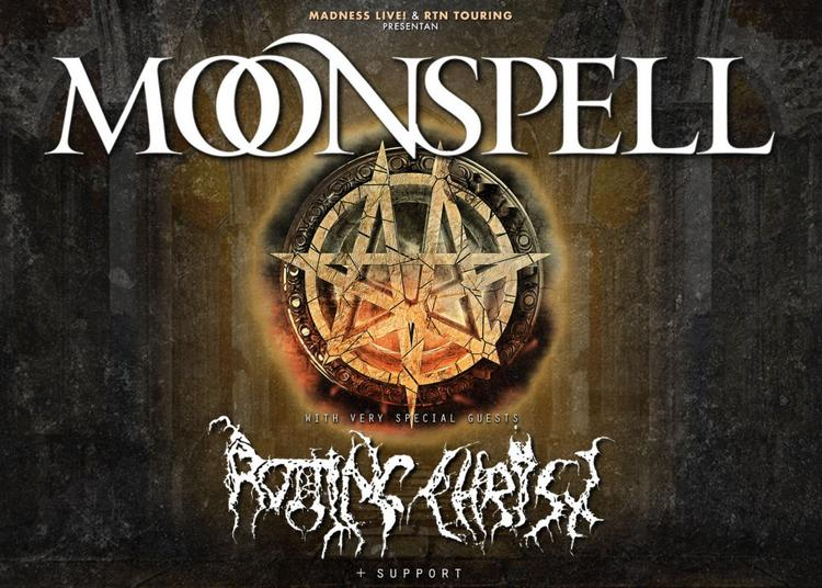 Moonspell   Rotting Christ à Bourg en Bresse