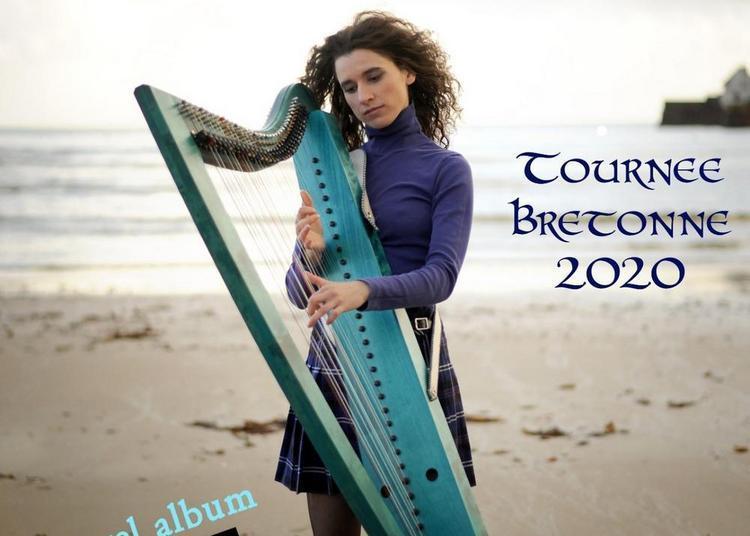 Morgan of Glencoe, harpe celtique et chant à Perros Guirec